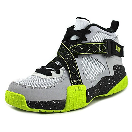 521db842 Nike Kids Air Raid (GS) Wolf Grey/Venom Green/Pr Pltnm Basketball ...
