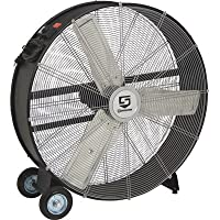 Strongway Open Motor Direct-Drive Drum Fan - 36in., 1/3 HP, 11,200 CFM