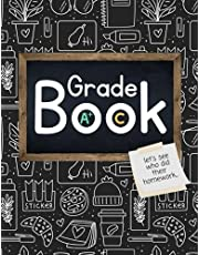 Teacher Grade Record Book: For Primary, Elementary, Middle School, High School Academic Year