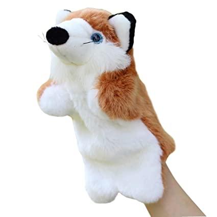 Amazoncom Sunone11 Baby Kids Cute Fox Hand Puppet Animal Story