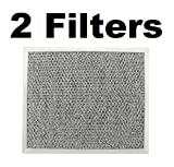 Tosva 2 Pack Aluminum Grease Filter for Broan 97006931 Nutone and AF4035 BP29 G-8504