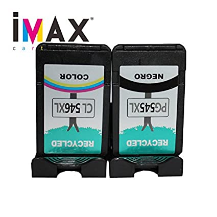IMAX 2 PC Negro Cartucho de tinta PG545 X L CL546 X L para ...