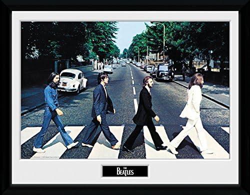 The Beatles Abbey Road John Lennon Paul Signed Autographed A4 Poster Print Photo
