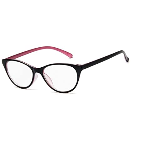 YMTP Women Cat Eye Glasses Frames Clear Eyeglasses Ladies Spectacles ...