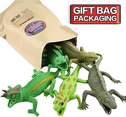 ,Food Grade Material TPR Super Stretchy,With Learning Card,ValeforToy Realistic Fake Snake Figure Keep Bird Away Bathtub Garden Rainforest Squishy Reptile Toy Rubber Snake,14 Inch Snake Toy Set 6 Pack