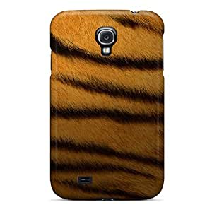 Anti-scratch And Shatterproof Tiger Print Phone Case For Galaxy S4/ High Quality Tpu Case