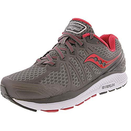 Saucony Women's Echelon 6 Running Shoe, Grey Pink, 7 Medium US