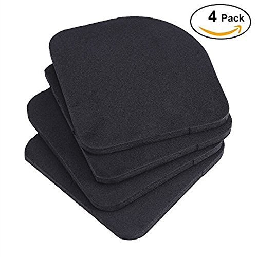 4Pcs Anti-Vibration Pads Universal Rubber Silent Feet Pads for Washing Machine Refrigerator Home Appliance (Washer Pad Universal)