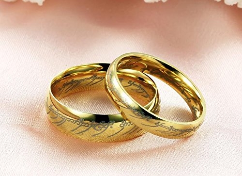 Fashion Ring the Lord of the Rings Couple Jewelry Stainless Steel
