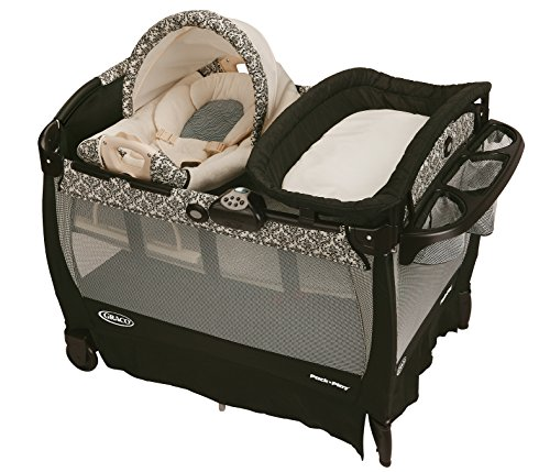 Graco Pack 'n Play Playard with Cuddle Cove Rocking Seat,...