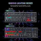 RGB Mechanical Gaming Keyboard,CHONCHOW