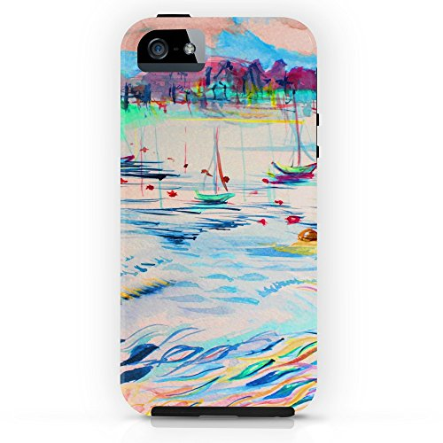 Collins Abstract Painting (Society6 Wave Tough Case iPhone SE)