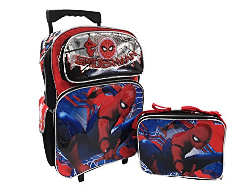 Spiderman Homecoming 16in Backpack and Lunch Box