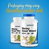 Nutricost Horny Goat Weed Extract (Epimedium) - 180 Capsules, 180 Servings, 600mg Per Capsule