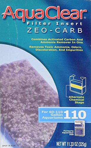 AquaClear 110 Zeo-Carb Insert - 110 Insert Foam Aquaclear