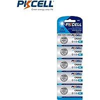 CR2032 Button Coin Cell Battery 3Volt 220mAh Lithium Batteries 5 Counts (CR2032 5 PCS)