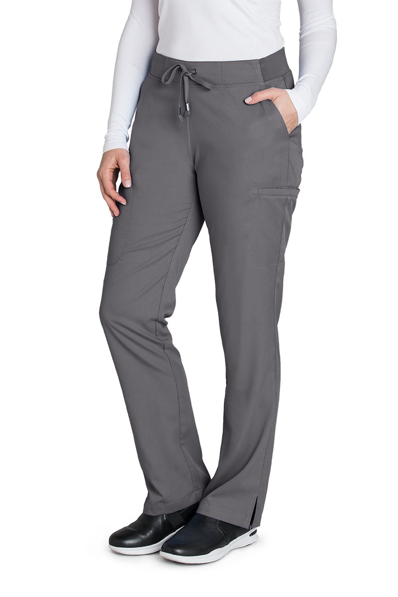 Grey's Anatomy 4277 Straight Leg Pant Granite M