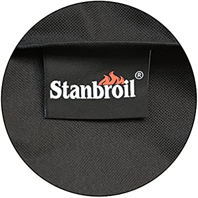 Stanbroil Grill Cover Fits Oklahoma Joe's Longhorn Offset Smoker