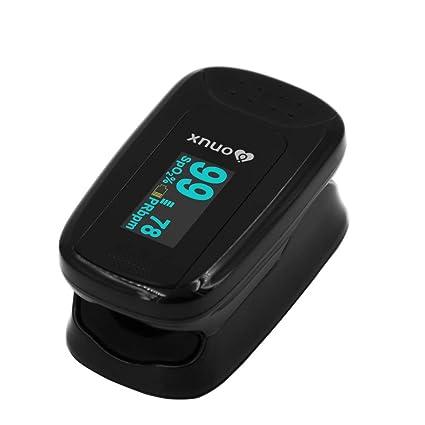 XNUO X5 de pulso oximetro de pulso de uso doméstico HD pantalla OLED giratorio Show lectura