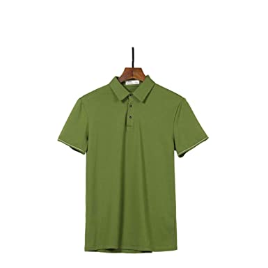 Summer Polo Shirt Men Cotton Short Sleeve Polo Shirts Male Solid ...