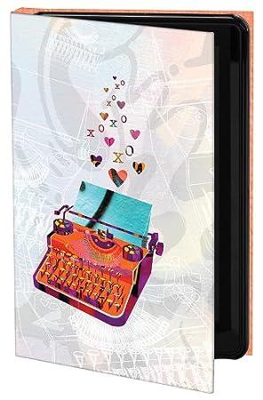 Keka Funda para iPad Mini, diseño de máquina de escribir de Katrina Revenaugh