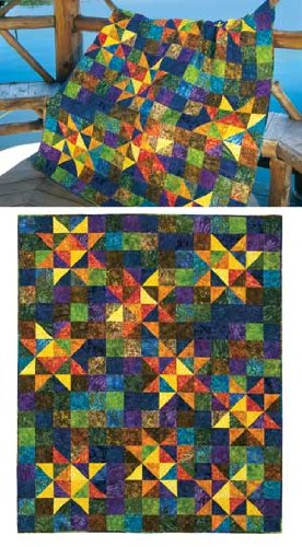 (Twinkle Quilt Pattern by Swirly Girls - 4 Sizes -)