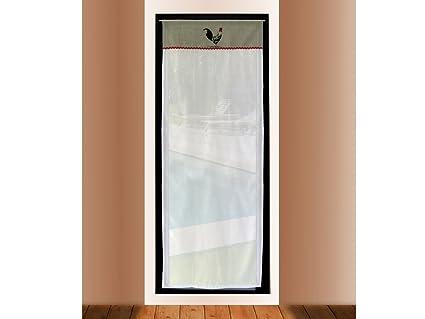 Soleil d\'ocre 046691 Tenda Porta Finestra Ricamate in Cotone 70 x ...