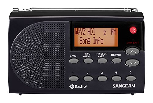 Sangean HDR-14 HD AM/FM Pocket Radio (Hd Radio Adapter)
