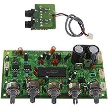 MagiDeal M65840 DC 12V Karaoke Microphone Tone Board Power Amplifier Board-Green