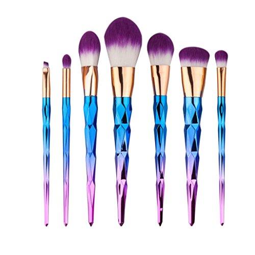 Gotd 7PCS Cosmetic Makeup Brush Makeup Brush Eyeshadow Brush (Pack of 7)