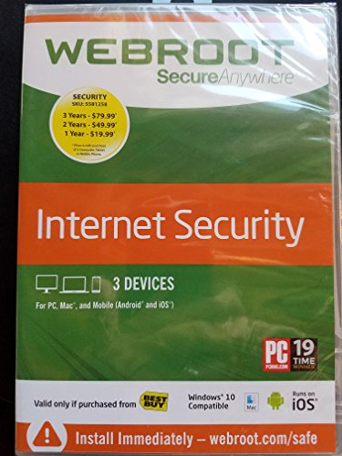 Webroot Secureanywhere Internet Security 2006-2017