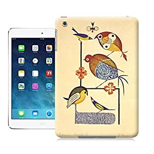 Unique Phone Case Animal personality patterns Birds frolic in this stunning illustration by Japanese master artist Takeo Takei 643x959 Hard Cover for ipad mini cases-buythecase