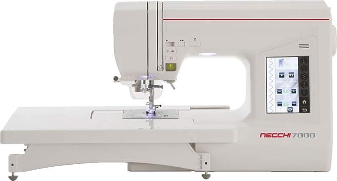 Necchi N7000 - Máquina de Coser electrónica: Amazon.es: Hogar