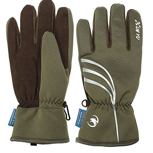 Motorcycle Gloves Waterproof Windproof Knight Full Finger Gloves for Motorcycle Cycling Racing - (Size: XL)