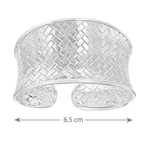 Tuscany Silver Fine Necklace Bracelet Anklet Argent 925/1000 6.5 Centimeters