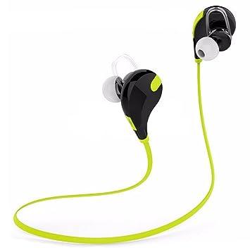SODIAL (R) Bluetooth 4.0 auriculares inalámbricos deporte auricular con micrófono para iPhone 4 5