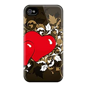 For Iphone 4/4s Fashion Design Love Design 7 Case-xOnrueH1212PlRhL