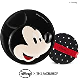 The Face Shop Mickey BB POWER PERFECTION Cushion V203 Natural Beige Good Coverage With Hyaluronic Acid