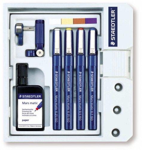 Staedtler Marsmatic 4 Pen Set by OfficeMarket