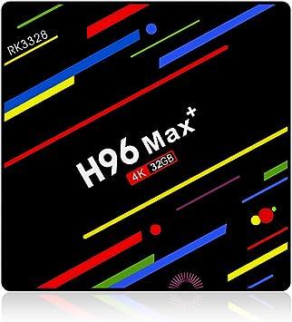 Desconocido H96 MAX Smart TV Box US Plug Negro Adaptador de Cable: Amazon.es: Electrónica