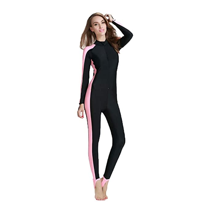 afd918c5ea282 Image Unavailable. Image not available for. Color: Zohto Women Surf Suit  Swimsuit Sexy One Piece Bodysuit Swimwear Professional Sport Bathing Suit
