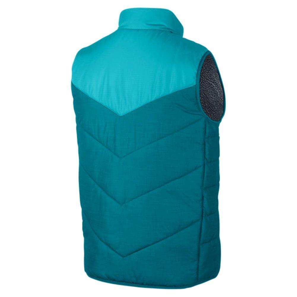 1b5a4552da7d1e Amazon.com  Jordan Men s Nike Ele Padded Reversible Puffer Vest-Teal Gray-2XL   Sports   Outdoors
