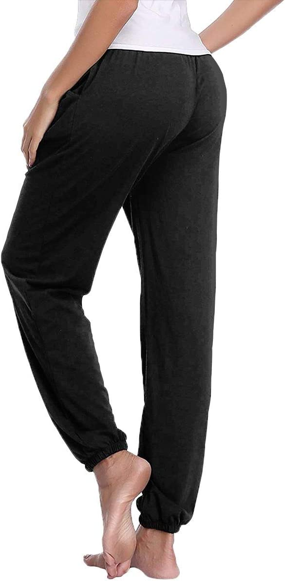 Lesi Yes Womens Jogger Sweatpants Siberian Husky Active Yoga Lounge Relaxed Fit Casual Pants with Pockets Workout Training Running