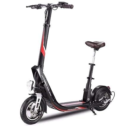Y&XF Scooter eléctrico Plegable para Adultos, Motor sin ...