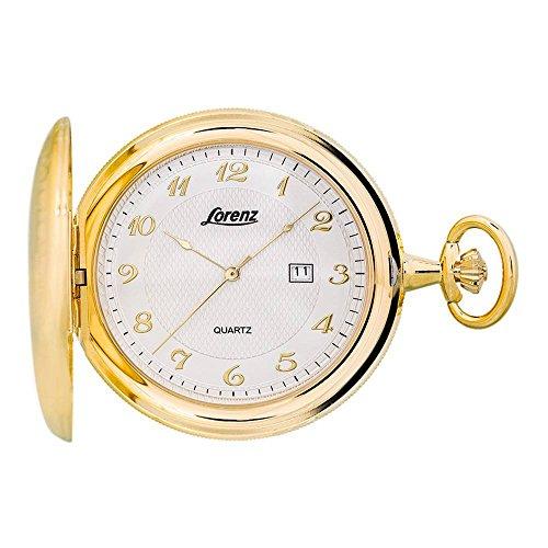 Lorenz 30038BB unisex quartz pocket watch by Lorenz