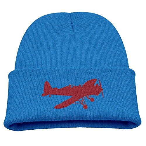 ZWZ Airplane WW2 Kid's Hats Winter Funny Soft Knit Beanie Cap, - Wwii Sunglasses