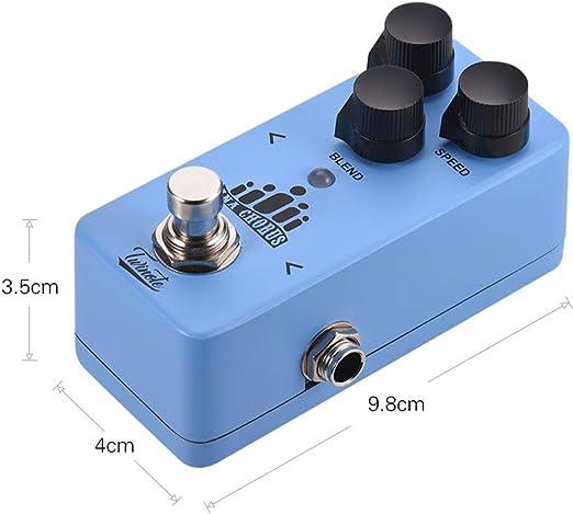 Efecto De Guitarra Procesador de Pedal Ana Chorus Mini Analog ...
