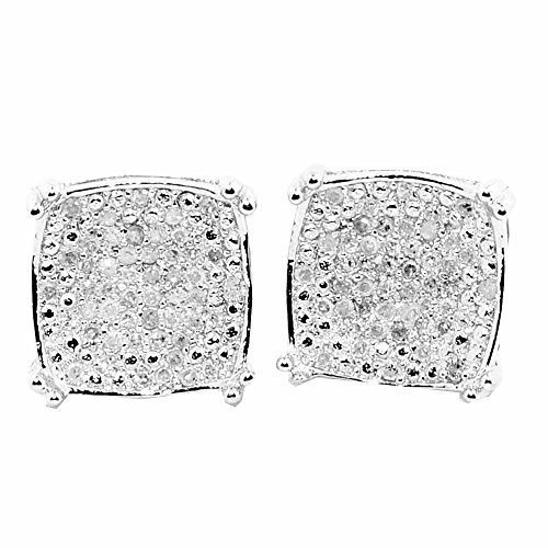 Diamond Earrings Sterling Silver 0 25cttw product image