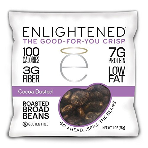Enlightened Crisp The Good for You Crisp Roasted Broad Beans, 3.5 Ounce (Pack of 6)