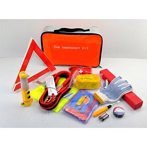ROSENICE 12 Pcs Auto Notfall Kit Pannenhilfe und Emergency Kit